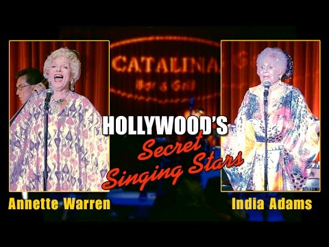 Hollywood's Secret Singing Stars - Annette Warren & India Adams