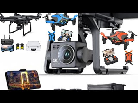 Фото Potensic D58, FPV Drone with Camera, 5G WiFi HD Live Video, GPS Auto Return, RC Quadcopter for Adult