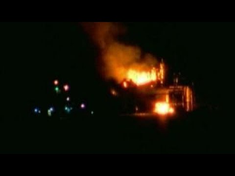Oil rig explosion leaves at least 7 injured in Louisiana