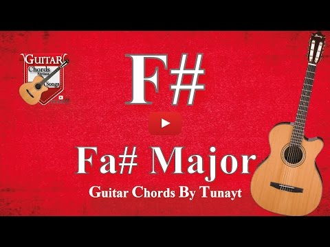 Video Fa Major How To Play F Chord On Guitar Fa Major