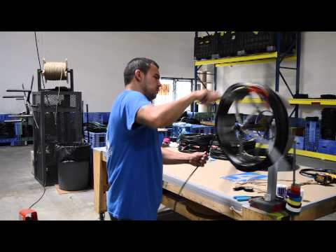 Demo: Data/DMX Cable Roller
