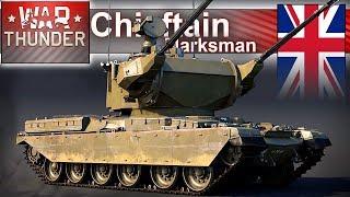 Chieftain Marksman i inne ciekawe pojazdy w War Thunder