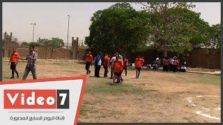 مستشفى العباسية يعقد مسابقة كرة القدم لتأهيل المرضى نفسياً