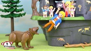 Ricardo Family - Becky & Jason - Camping Trip Fun and Bear Attack!! Ep. 150