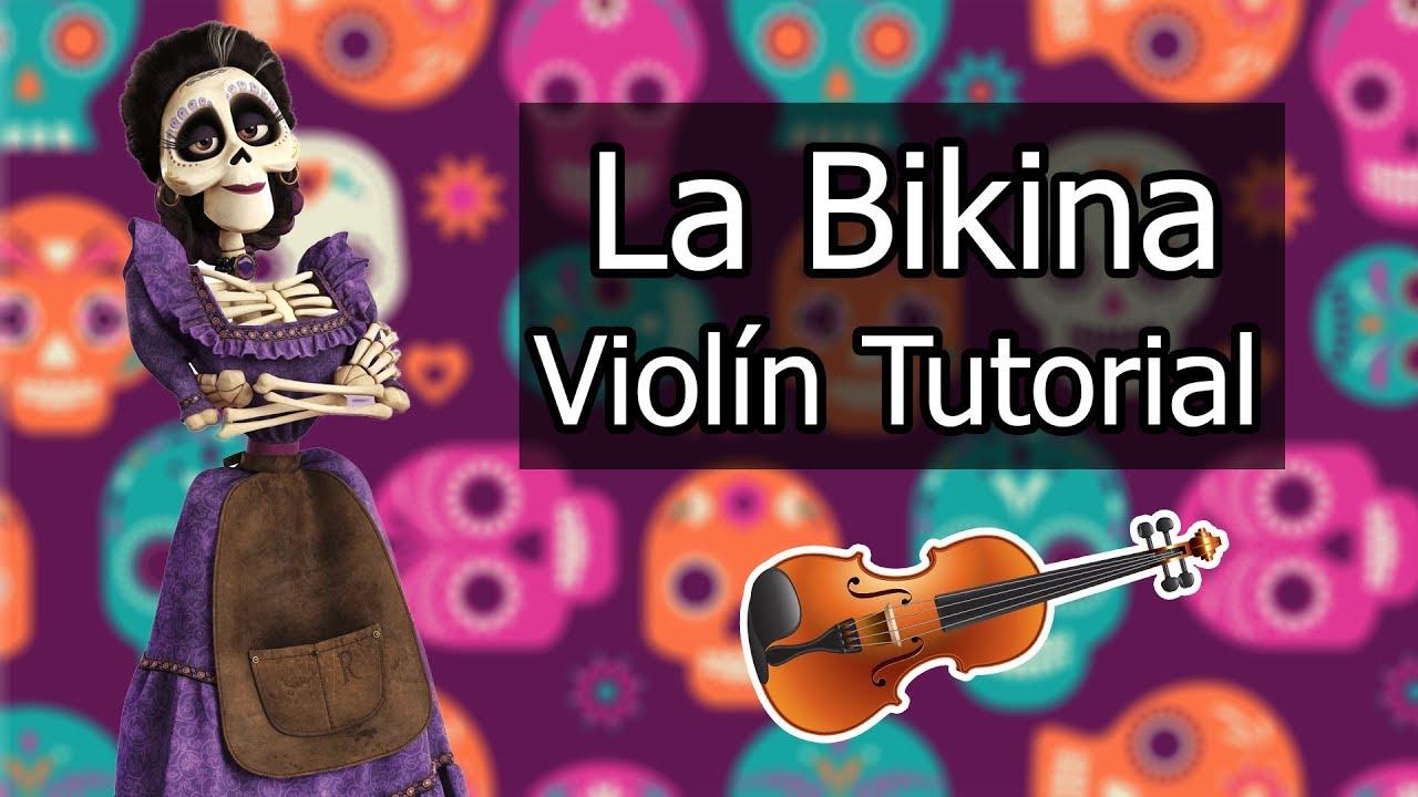 La Bikina Violin Tutorial Partitura Descarga By Violin Piano