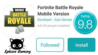 DOWNLOAD FORTNITE MOBILE!!! (Register on Fortnite Battle Royale Mobile)