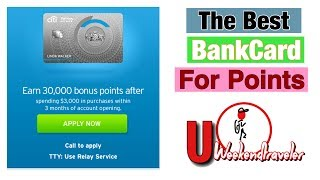 The credit card that offers the most points and rewards