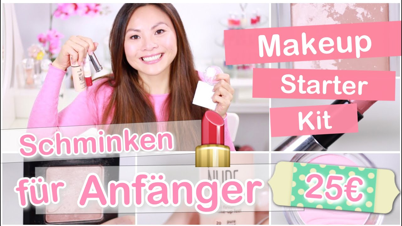 makeup starter kit f r 25 schminken f r anf nger tipps mamiseelen youtube. Black Bedroom Furniture Sets. Home Design Ideas