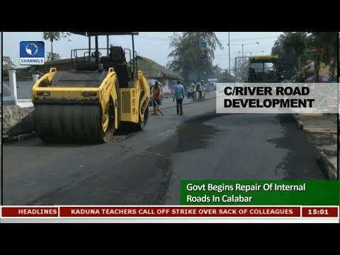 Govt Begins Repair Of Internal Roads In Calabar |News Across