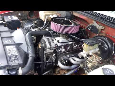 Ol'Red - K1500 TBI 350 Power Build - YouTube