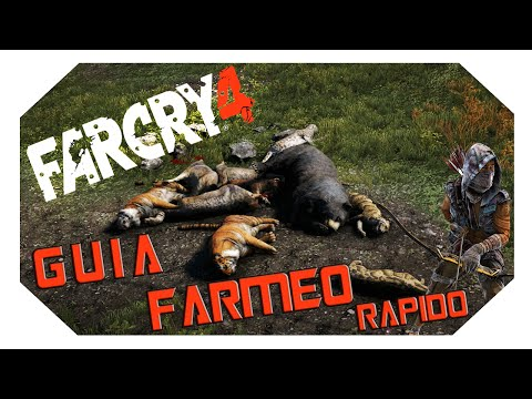 FAR CRY 4: Guia de farmeo Rapido (Localizacion Leopardo de las Nieves)