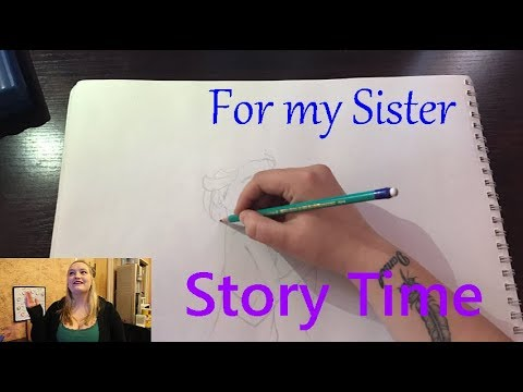 Anna and Elsa | Story Time + Speed Painting | Carli van Aswegen