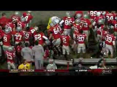 Shawn Crable Hit on Troy Smith