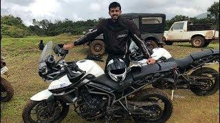 Triumph Tiger Trails - Off-Roading Fun | Faisal Khan