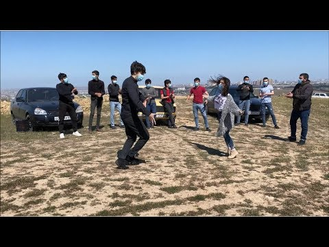 2020 Лезгинка Коронавирус В Баку 2020 Lezginka COVID-19 Dance ALISHKA NELYA ASIF ELXAN KAMIL