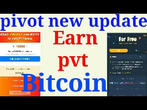 pivot new update earn btc рдЕрдм рд░реЛрдЬрд╝ рдорд┐рд▓реЗрдВрдЧреЗ 4000 рдкрд╛рд╡рд░