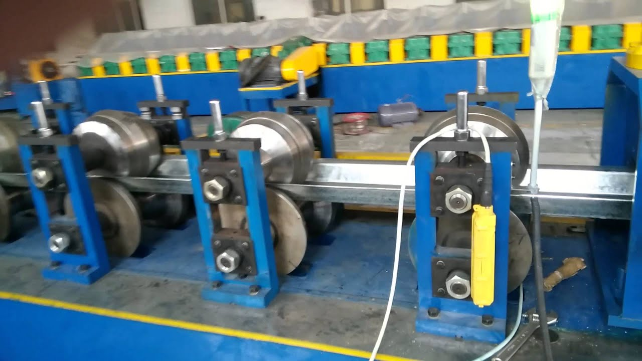Greenhouse Gutter Roll Forming Machine Youtube