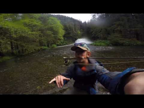 Fishing For 30+ Inch Alaskan Steelhead