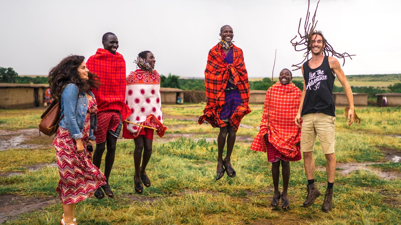JOINING MASAI TRIBE! - YouTube