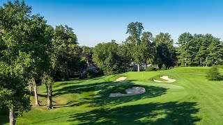 2020 U.S. Open: Winged Foot Flyover - Hole No. 10