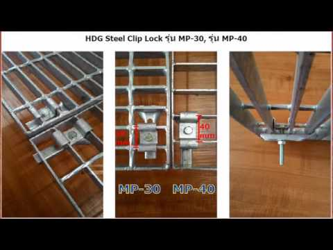frp Bar Grate Mounting Saddle Clip Lock Clamp Fastener Anchor _dol2
