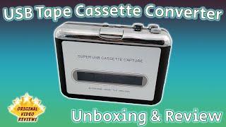 USB Tape Cassette Converter Review 🎧