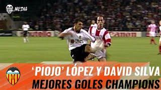 DOS GOLES DEL VALENCIA CF ENTRE LOS MEJORES DE LA HISTORIA DE LA CHAMPIONS LEAGUE