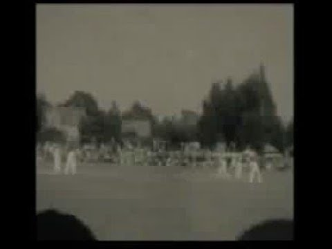 Hampshire v Australia Cricket at the County Ground, Northlands Rd, Southampton, 1934