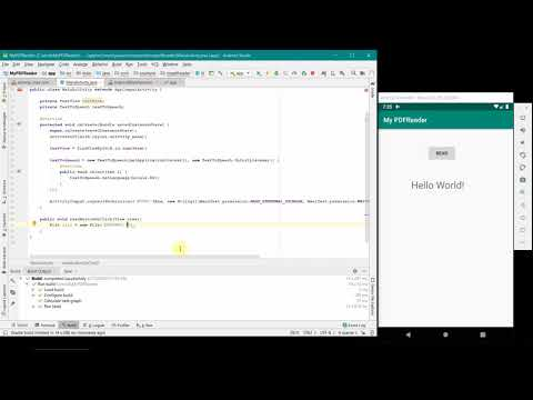 How To Create Your PDF Reader Android App? - Complete Source Code