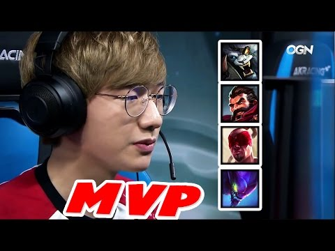 Everything PEANUT did at LCK Spring 2017 | #LeagueOfLegends