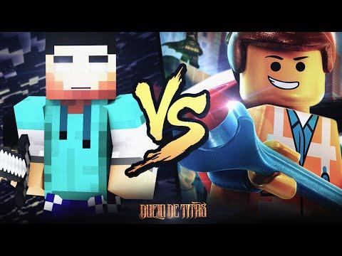 Minecraft VS. Lego   Duelo de Titãs