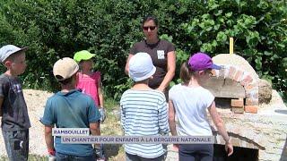 Yvelines | Rambouillet : Un chantier pour enfants à la Bergerie nationale