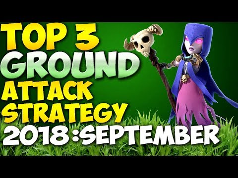 TOP 3 TH9 BEST GROUND WAR ATTACK STRATEGIES 2018 (No Bowlers) | Updated | Clash of Clans