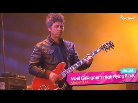 Noel Gallagher's High Flying Birds - intro (Shoot a Hole Into the Sun) - Everybody's on the Run