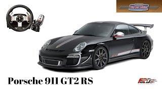 City Car Driving [ Porsche 911 GT2 RS - тест-драйв, обзор ] Logitech G27