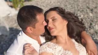 Свадебная церемония на берегу моря для Игоря и Екатерины