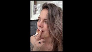 ASMR Outside Chat And Smoke With Mitch McTortoise - Watch Girl Smoking