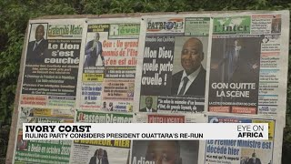 Ivory Coast presidential election: Ruling party considers Ouattara running again