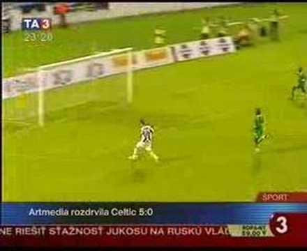 Artmedia - Celtic 5:0