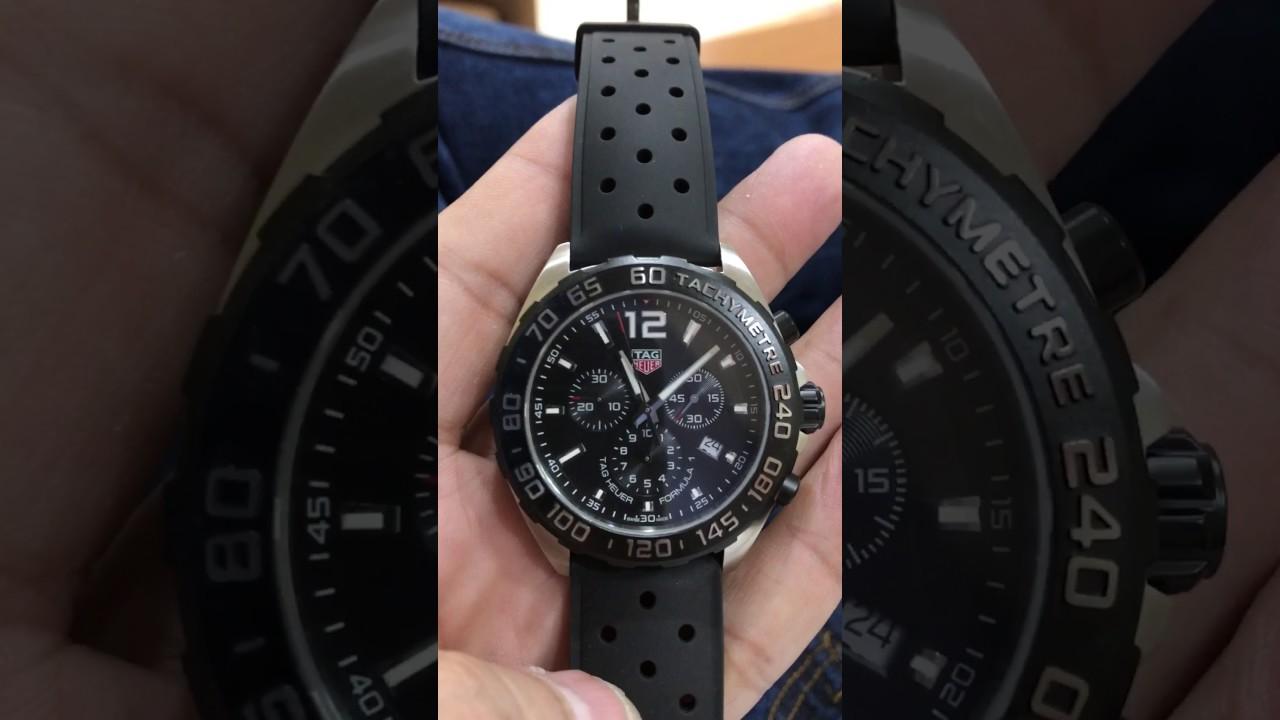 Tag Heuer Formula 1 Chronograph >> Tag heuer formula 1 cronograph - YouTube