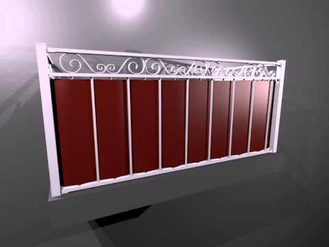Top Balkonverkleidung | Suchen Sie Balkonverkleidung auf Matte - YouTube QQ86