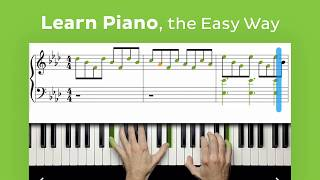 Learn to play piano online with Skoove!