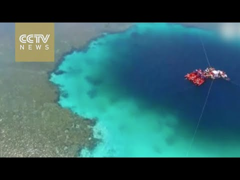 Exclusive video of world's deepest blue hole in the South China Sea