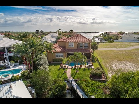 959 Symphony Isles Blvd. Custom Built Waterfront Home - Live in Tampa Bay Today!