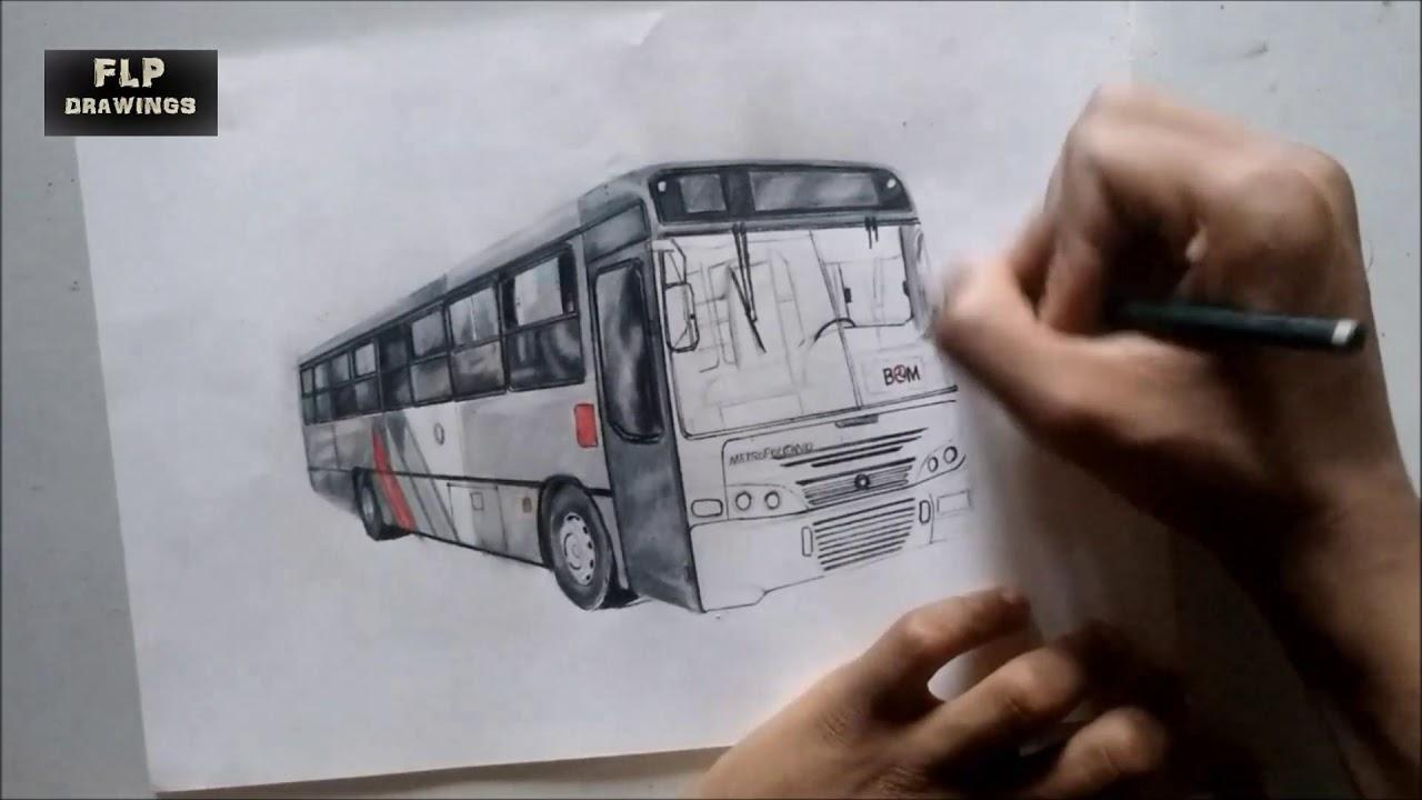 Desenho De Onibus Marcopolo Torino 1999 Viacao Imigrantes Youtube
