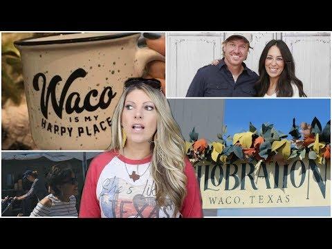 MAGNOLIA SILOBRATION | FARMHOUSE DECOR | CHIP and JOANNA GAINES | FIXER UPPER | WACO TEXAS SHOPPING