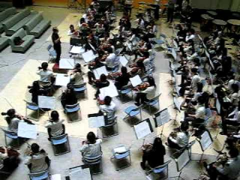 awesome orchestra at Juntendo university hospital