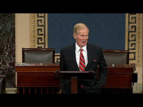 WEB EXTRA: Sen. Bill Nelson's Final Speech On The Senate Floor