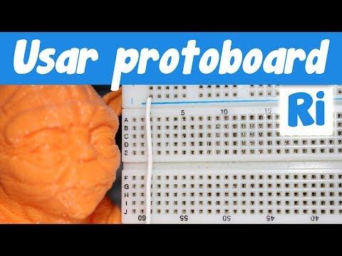 Cómo usar una Protoboard