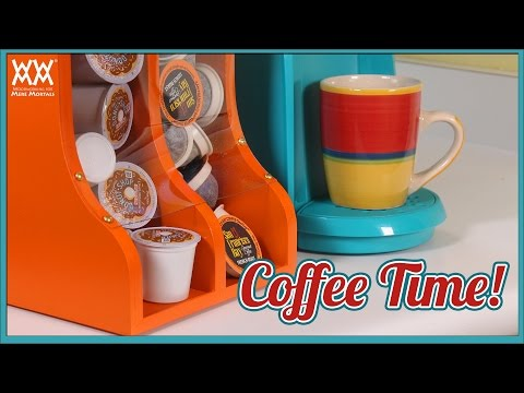 DIY Kitchen Organization: K-Cup Coffee Dispenser